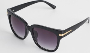 Czarne okulary damskie Diverse