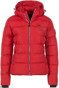 Czerwona kurtka Peak Mountain krótka