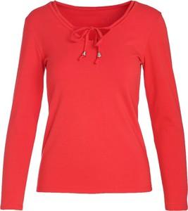 Czerwona bluzka Multu
