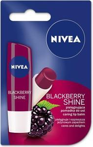 Nivea, Lip Care, pomadka ochronna, Blackberry Shine, 4,8 g