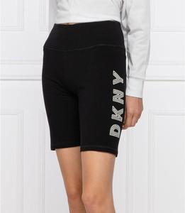 Czarne szorty DKNY