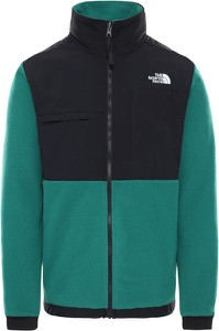 Turkusowa bluza The North Face w sportowym stylu z plaru