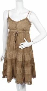 Brązowa sukienka Coline mini