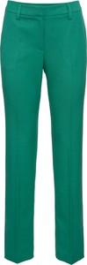 Zielone spodnie bonprix BODYFLIRT w stylu casual
