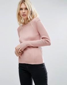 Różowy sweter Asos