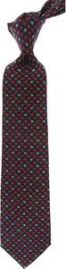 Czarny krawat Marinella