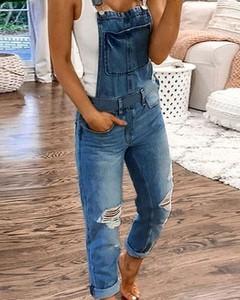 Niebieskie jeansy Kendallme w stylu casual z jeansu