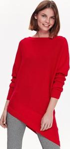 Czerwony sweter Top Secret