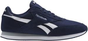 Niebieskie buty sportowe Reebok Fitness sznurowane w sportowym stylu