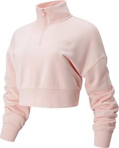 Bluza New Balance krótka w sportowym stylu