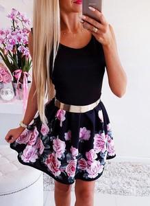 Sukienka Sandbella rozkloszowana mini