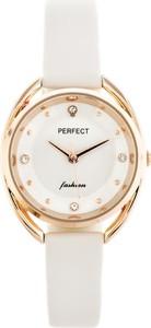 ZEGAREK DAMSKI PERFECT E327 (zp921a) - Biały || Różowe złoto