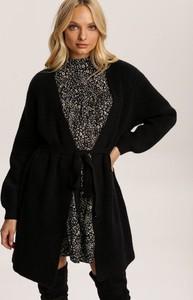 Czarny sweter Renee w stylu casual