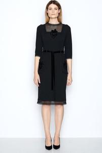 Sukienka Izabela Lapinska z długim rękawem