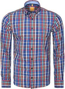 Koszula Redmond z kołnierzykiem button down z tkaniny