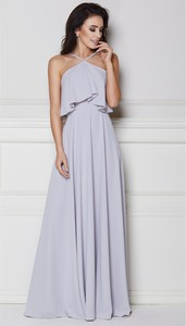 Sukienka LAVIKA z dekoltem halter maxi