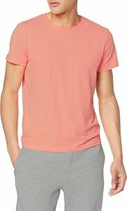 Różowy t-shirt amazon.de z krótkim rękawem