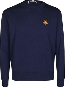 Niebieski sweter Kenzo w stylu casual