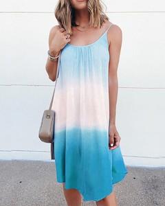 Sukienka Kendallme w stylu casual z okrągłym dekoltem mini