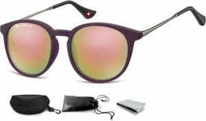Stylion Okulary dziecięce lenonki Unisex lustrzanki matowe CS71C