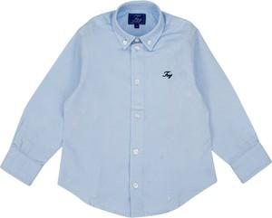 Niebieska koszula dziecięca Fay dla chłopców