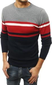 Sweter Dstreet w młodzieżowym stylu z dzianiny