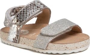 Srebrne buty dziecięce letnie GIOSEPPO