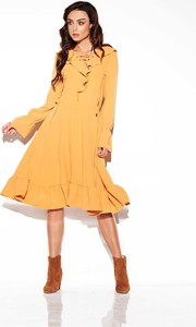 Żółta sukienka Lemoniade w stylu boho