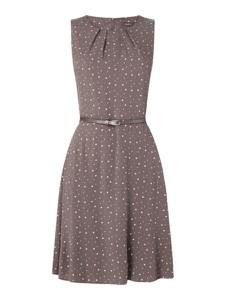 Sukienka Montego bez rękawów mini rozkloszowana