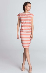 Sukienka Nife w stylu casual midi
