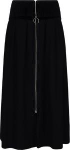 Spódnica Hugo Boss z wełny midi