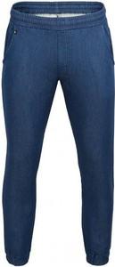 Granatowe spodnie sportowe Outhorn z tkaniny