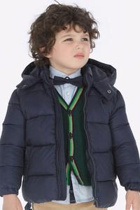 Niebieska kurtka dziecięca Mayoral z tkaniny