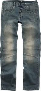 Niebieskie jeansy Black Premium By Emp z bawełny