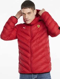 Czerwona kurtka Puma w sportowym stylu krótka