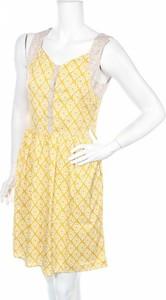 Żółta sukienka Laga mini