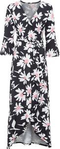 Sukienka bonprix z dekoltem w kształcie litery v