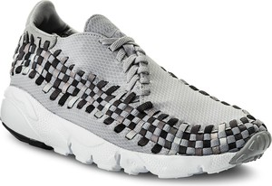 Buty nike - air footscape woven nm 875797 004 wolf grey/black/dark grey