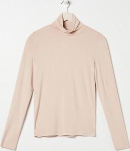 Bluzka Sinsay w stylu casual z golfem z długim rękawem