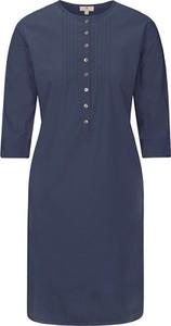 Niebieska sukienka Basefield w stylu casual