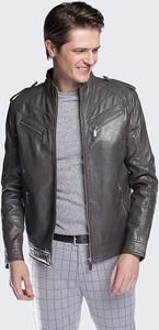 9e17478416d77 zara kurtki skórzane męskie - stylowo i modnie z Allani