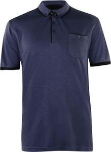Granatowa koszula Pierre Cardin