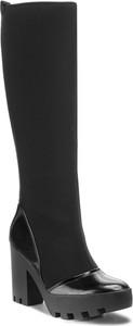 Czarne kozaki Calvin Klein