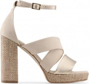 Sandały Made In Italia na słupku z klamrami