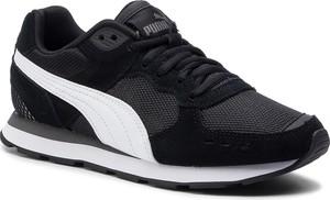 Buty sportowe Puma sznurowane z płaską podeszwą z zamszu
