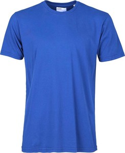 Niebieski t-shirt Colorful Standard z krótkim rękawem