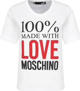 T-shirt Love Moschino z krótkim rękawem