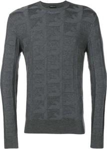 Sweter Emporio Armani z okrągłym dekoltem