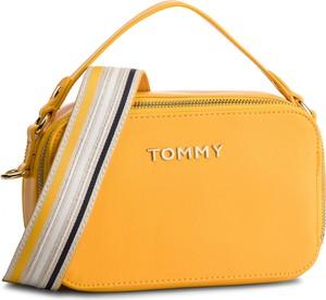 Żółta torebka Tommy Hilfiger