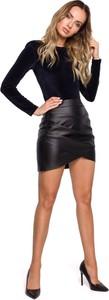 Czarna spódnica MOE z bawełny